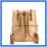 Le modèle de jeunes a personnalisé le sac occasionnel de papier de sac à dos d'école de Dupont, sac à dos chaud d'ordinateur portatif de course de papier de Tyvek de promotion
