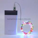 USB Powered Suspension LED pour chambre à coucher intérieur extérieur 16.5 Feet 50 LEDs blanc chaud pour patio Décor de mariage