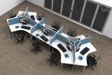 Cubículo moderno de la oficina de 4 personas de la más nueva asamblea fácil (SZ-WS692)