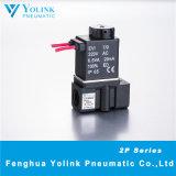 elettrovalvola a solenoide pneumatica ad azione diretta di serie 2p025