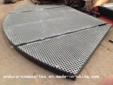 FRP/GRP/Fiberglass ha rinforzato i comitati di plastica/la grata/Anti-UV modellati