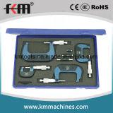 0-200mmx0.001mm 8PCS außerhalb des Mikrometer-Sets