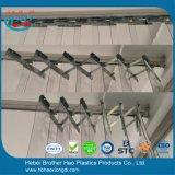 Ferragens de montagem flexíveis da cortina da tira do PVC do acordeão