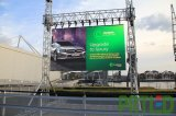 Afficheur LED portatif polychrome de la publicité IP65 extérieure pour la location (P5, P8)