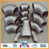 ASTM B363 промышленных титана сварные фитинги трубы колено для химического