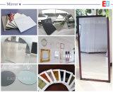 De duidelijke & Gekleurde Zilveren/Decoratieve Spiegel van het Aluminium/het Kleden zich de Spiegel/maakt omhoog Spiegel