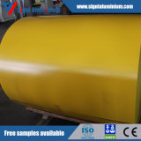 Lamierino/lamiera di alluminio rivestiti di colore di PVDF/PE per la decorazione