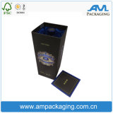 Caixa de empacotamento personalizada do vinho da parede elevada com indicador desobstruído