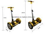 10 polegada Tt Self-Balancing Scooter eléctrico com Barra de Alavanca