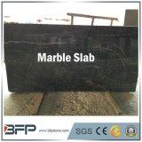 Lastre di marmo nere cinesi del marmo dell'oro di Portor per la decorazione della stanza da bagno