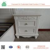 Weißes modernes Schlafzimmer-Möbel-Holz Nightstand