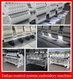 4 máquinas de alta velocidad principales del bordado del ordenador de Dahao/máquina multi principal multi del bordado de la función