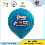 고품질은 Jiangyin에 있는 커트 피스 알루미늄 호일 뚜껑을 정지한다