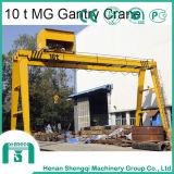 Heavy Duty máquinas de elevación eléctrica Trolley grúa de pórtico viga doble