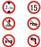 Novo Tipo Top Venda Road Signs trabalho