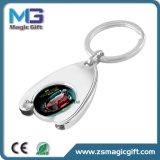 Qualitäts-Absinken-Form kundenspezifische Firmenzeichen-Laufkatze Keychain