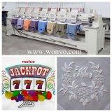 Wonyoの産業使用の高速8ヘッド刺繍機械
