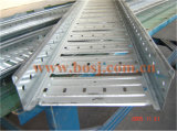 Rolo perfurado do tanque da bandeja de cabo que dá forma ao fabricante Dubai da fábrica de máquina