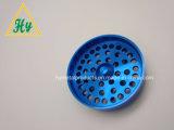 Les pièces d'usinage CNC/pièces usinées avec revêtement bleu