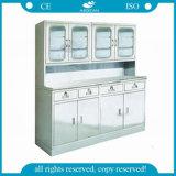 AG-SS091-2 armoires de traitement des matériaux en acier inoxydable pour la vente