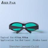 Verres de sûreté protecteurs élevés du laser O.D 5+Laser de diodes dentaires du laser 808nm pour la transmittance de 30%