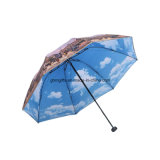 Горячий продавая зонтик OEM печатание хорошего качества выдвиженческий складывая