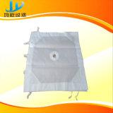 Pano de filtro de pressão de polipropileno branco para indústria de aço