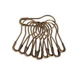 Fechamento de roupa de pêlos de caldo de cobre (GP-7821-1)