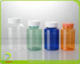 bottiglia di plastica della medicina dell'animale domestico 180ml con il coperchio a vite normale