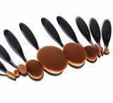 Щетка состава PCS формы 10 зубной щетки инструментов состава установленная универсальная профессиональная косметическая