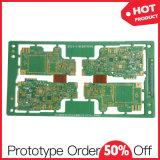 De snelle Raad van PCB van het Prototype van de Laag van de Draai Fr4 Enige