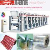 Печатная машина печатание Gravure полиэтиленовой пленки рельса asy-G компьютеризированная серией