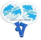 Strand-Tennis-hölzernes Paddel stellte für allen Alters-Spaß für Sommer-Strand-Paddel-Kugel-Spiel ein