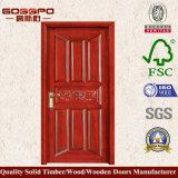 Porta de madeira do quarto barato moderno inter (GSP2-032)