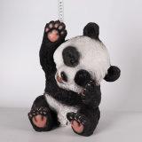 La resina americana antigua del hogar del país adorna decoraciones creativas de la estatua de la panda