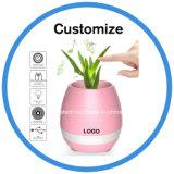 A magia de ABS Smart Touch Planta Pot Flowerpot música alto-falante Bluetooth