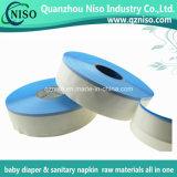 De hete van de Smelting Blauwe pp ZijBand van het Silicone BOPP voor het Maken van de Luier van de Baby