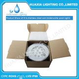 Cer RoHS IP68 316ss 12V LED Unterwasserlicht mit Plastikgehäuse