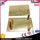 袋のための亜鉛合金の鋳造のロゴの金属Aameplate