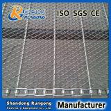 Aço inoxidável convencionais de tecer o tapete de transporte