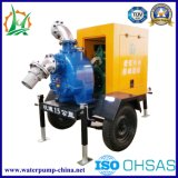 Bomba de água centrífuga da água de esgoto de escorvamento automático Diesel de Raincover