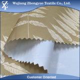 Tessuto stampato bianco della tenda del taffettà del poliestere ricoperto PVC