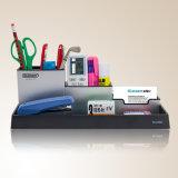 El sostenedor de aluminio de la pluma de la combinación fijó para el almacenaje de escritorio del papel
