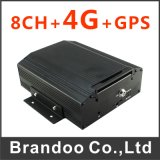 승진 8 채널 이동할 수 있는 DVR 기록병 4G GPS 12V 차 CCTV DVR