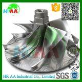 Des Hochleistungs--5-Axis Billet-Kompressor-Rad simultane Bewegung CNC-drehenprägeturbo