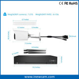 sistema de seguridad del CCTV de 4CH 2MP con las cámaras del IP NVR e IP66