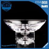 꽃잎 투명한 사라다 그릇 무연 유리 그릇