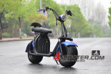 60V de Grote Elektrische Harley Autoped van 1500W Citycoco met het Gemakkelijke Afneembare Pak van de Batterij
