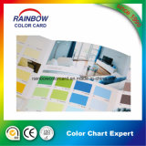 광고를 위한 선전용 건축재료 벽 페인트 색깔 카드