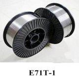 Aws A5.20 E71t-1 /E71t-1c /E71t-GS Fluss entkernte Schweißens-Drähte